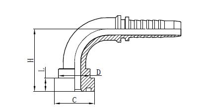 4SH Σχέδιο συναρμολόγησης εύκαμπτου σωλήνα