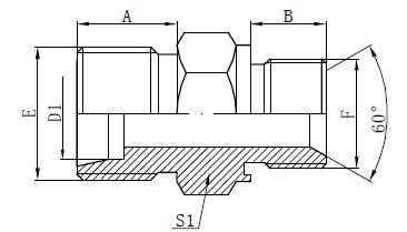 Εξαρτήματα προσαρμογέα προσαρτημένης σφραγίδας