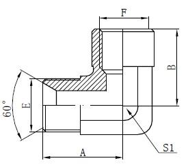 Αξεσουάρ προσαρμογέα προσαρμογέα BSP αγκώνα