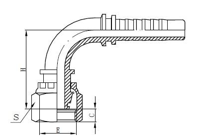 Σχέδιο προσαρμογής εύκαμπτου σωλήνα ενός κομματιού