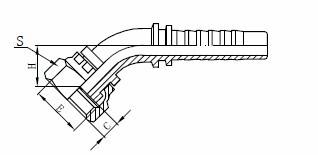 R1AT Υδραυλική διάταξη εύκαμπτου σωλήνα